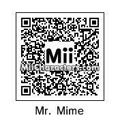 QR Code for Mr. Mime by J1N2G