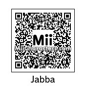 QR Code for Jabba the Hutt by Hanman