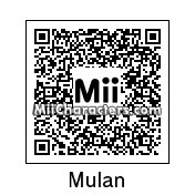 QR Code for Mulan by Hanman