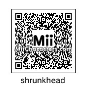 QR Code for Shrunken Head by celery