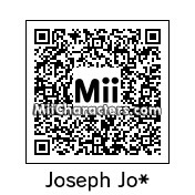 QR Code for Joseph Joestar by Eben Frostey