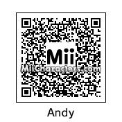 QR Code for Andy by robbieraeful