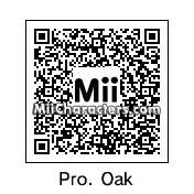 QR Code for Professor Samuel Oak by J1N2G