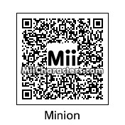 QR Code for Minion by NeoGamerXx