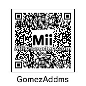 QR Code for Gomez Addams by Bella Swan
