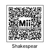 QR Code for William Shakespeare by Bella Swan