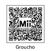 QR Code for Groucho Marx by Sparkey Davis
