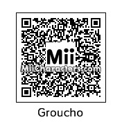 QR Code for Groucho Marx (No Makeup) by Sparkey Davis