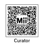 QR Code for The Curator by Andy Anonymous