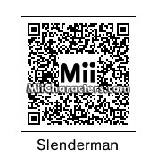QR Code for Slenderman by K1ngOfN1njas
