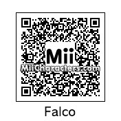 QR Code for Falco Lombardi by Lone Wolf