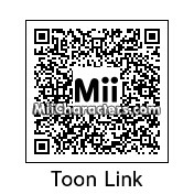 QR Code for Toon Link by Lone Wolf
