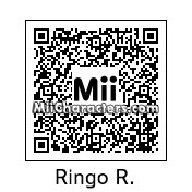 QR Code for Ringo Roadagain by Eben Frostey