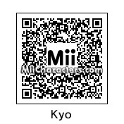 QR Code for Kyo Kusanagi by Eben Frostey