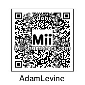 QR Code for Adam Levine by Electrotapped