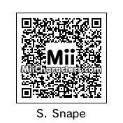 QR Code for Severus Snape by B1LL