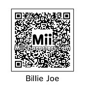 QR Code for Billie Joe Armstrong by myra109