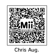 QR Code for Chris August by Rio 9
