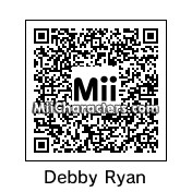 QR Code for Debby Ryan by Rio 9