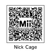 QR Code for Nicholas Cage by Ali