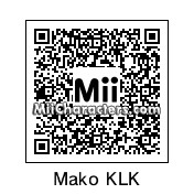 QR Code for Mako Mankanshoku by Eben Frostey