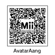 QR Code for Avatar Aang by Topher