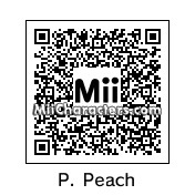 QR Code for Princess Peach by Topher