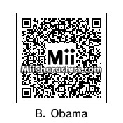 QR Code for Barack Obama by Killer is cool