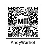 QR Code for Andy Warhol by Kevin