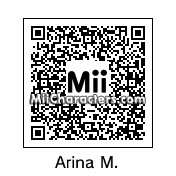 QR Code for Arina Makihara by Eben Frostey