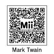 QR Code for Mark Twain by Andy Anonymous