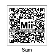 QR Code for Sam Sparks by Pika Pi
