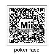 QR Code for Poker Face by djgaymer98