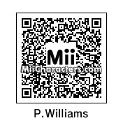 QR Code for Pharrell Williams by Denlig