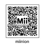 QR Code for Minion by djgaymer98