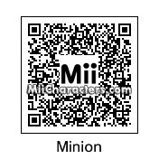 QR Code for Minion by Caca