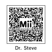 QR Code for Dr. Steve Brule by MCRMY119