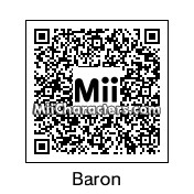 QR Code for Red Baron by KNG Keegan