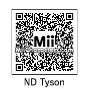 QR Code for Neil DeGrasse Tyson by Andy Anonymous
