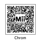 QR Code for Chrom by scruffyumbreon