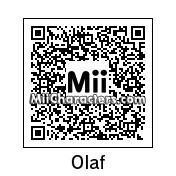 QR Code for Olaf the Snowman by Tristan Groff