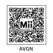 QR Code for The Angry Video Game Nerd by Rhino41