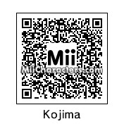 QR Code for Hideo Kojima by HeroZero