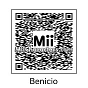 QR Code for Benicio Del Toro by Ali