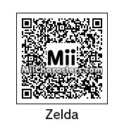 QR Code for Princess Zelda by originlLink