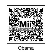 QR Code for Barack Obama by Alien803