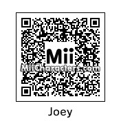 QR Code for Joey Tribbiani by MICHAEL
