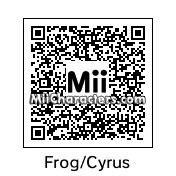 QR Code for Frog by Chrisrj