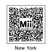 QR Code for New York by Gary Gnu
