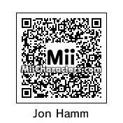 QR Code for Jon Hamm by Shifty